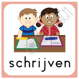 Schrijven | Dagplanning school