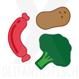 Eten & Drinken | Aardappels, groente, vlees
