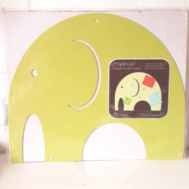 Magneetbord olifant | groen