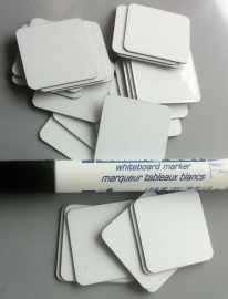 Whiteboard magneetjes incl. stift