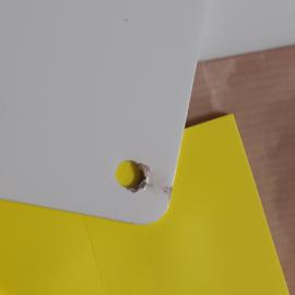 Magneetbord 25 x 35 cm | wit (B-keus)