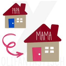 Familie | Van papa naar mama