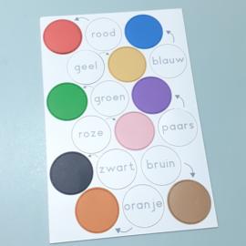 Kleuren oefenen