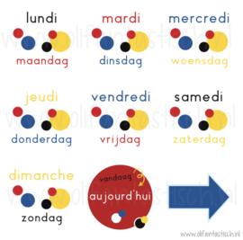 Dagen van de week | Franstalig