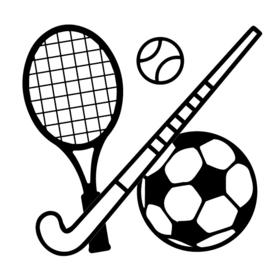 Sport | zwart-wit 4x4 cm