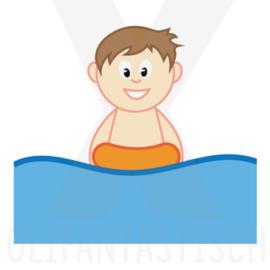 Sport | Zwemles/zwemmen jongen