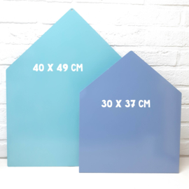 Magneetbord 30 x 37 cm | geel (staand)
