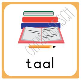 Taal | Dagplanning school