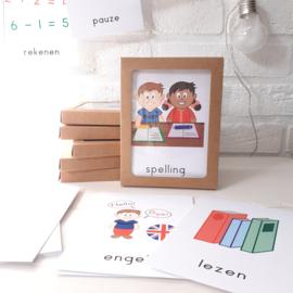 Dagritme kaarten (school)