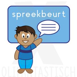 School   Spreekbeurt jongen