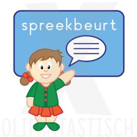School   Spreekbeurt meisje