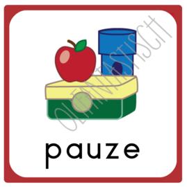 Pauze | Dagplanning school