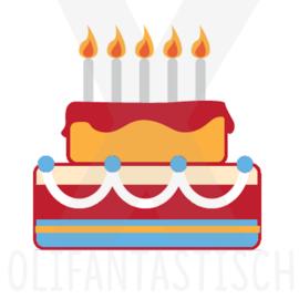 Feest | Verjaardag / Taart
