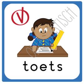 Toets | Dagplanning school