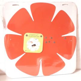Magneetbord bloem | oranje