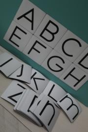 Magneten letters van het alfabet 5x5 cm