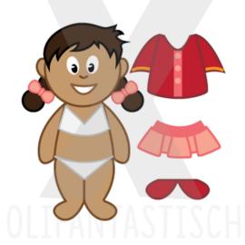 Kleding | Aankleden meisje