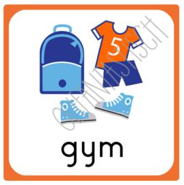 10 x 10 cm | Gym
