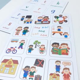 Praatjes met Plaatjes | Thema School