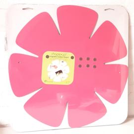 Magneetbord bloem | roze