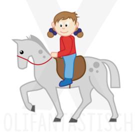 Sport | Paardrijden (meisje)