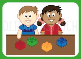 Magneet kiesbord   Lego / Duplo