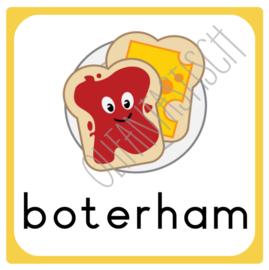 Boterham | Dagplanning school