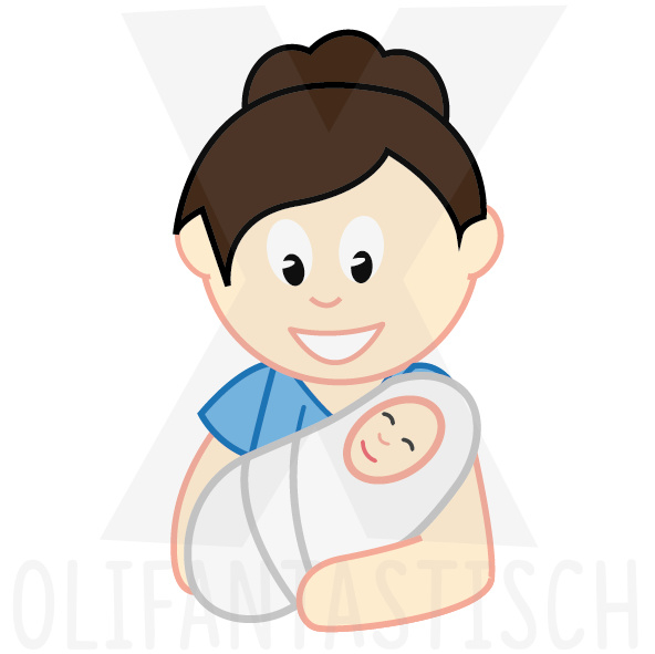 Familie | Mama met baby