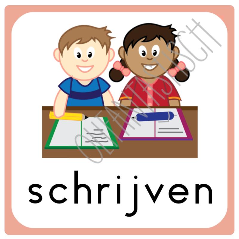 Schrijven | Dagritme school