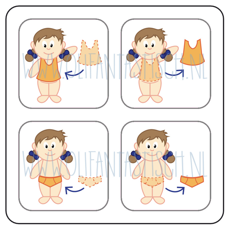 Aan- en uitkleden meisje (5)