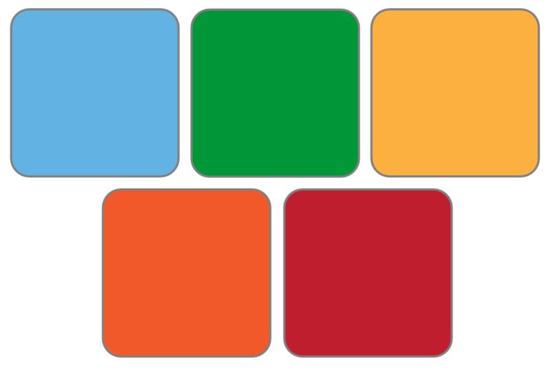 5 kleuren (emotiemeter)