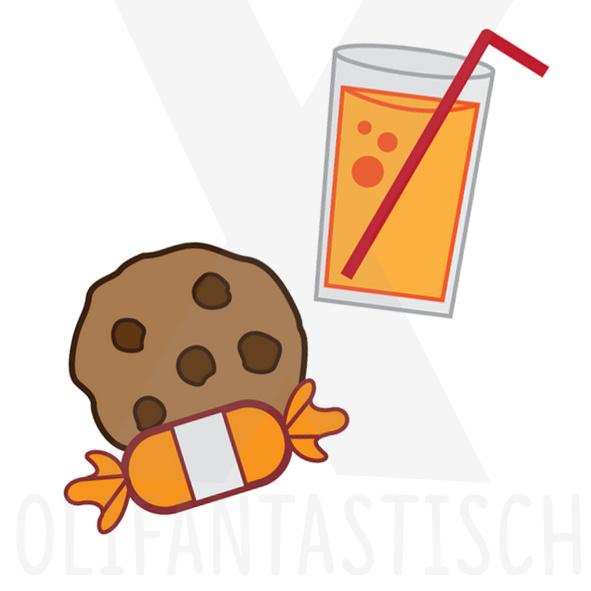 Eten & Drinken | Koekje en drinken