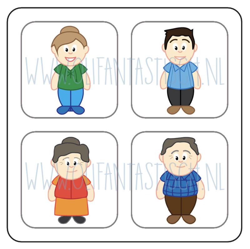 Magneetkaart | Ouders & Grootouders (2)