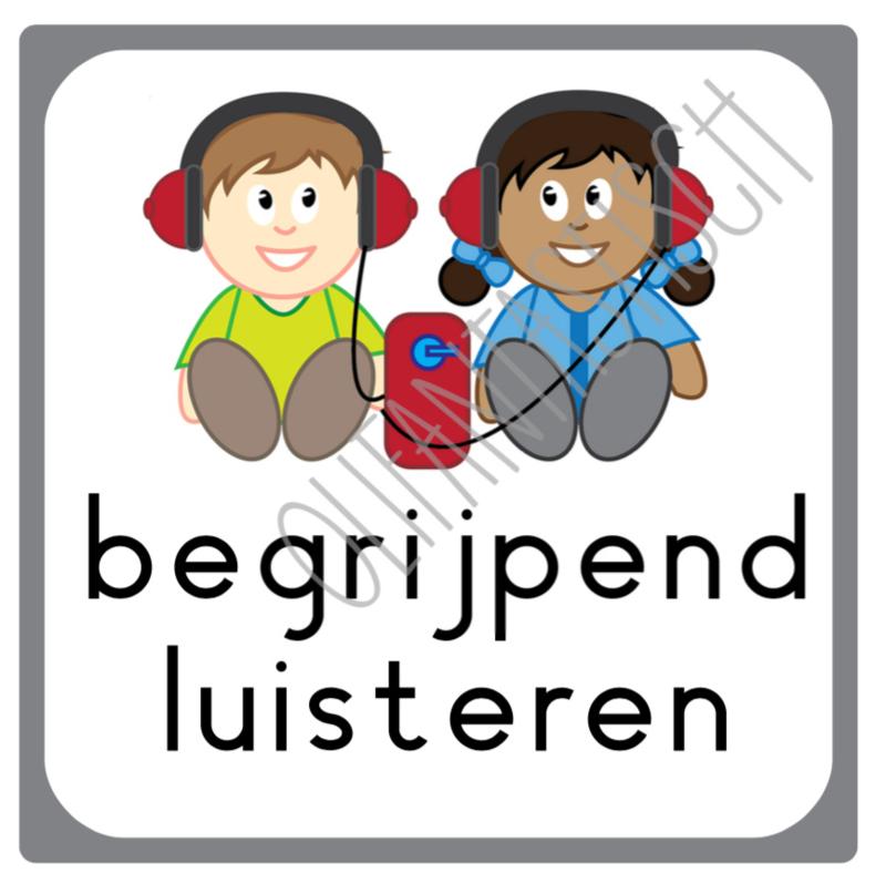 Begrijpend luisteren | Dagplanning school