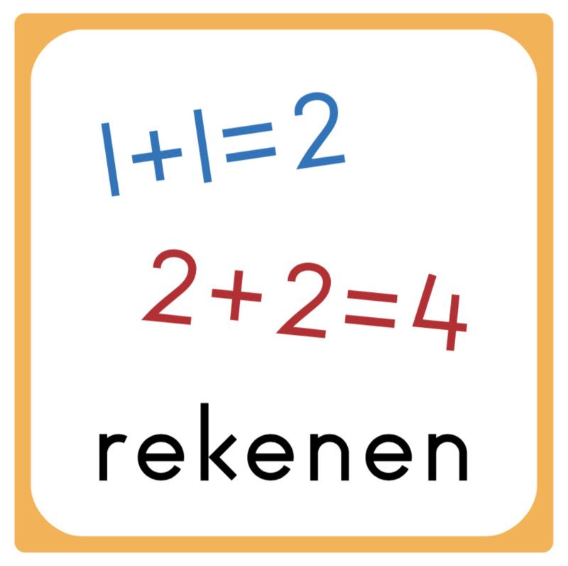 10 x 10 cm | Rekenen