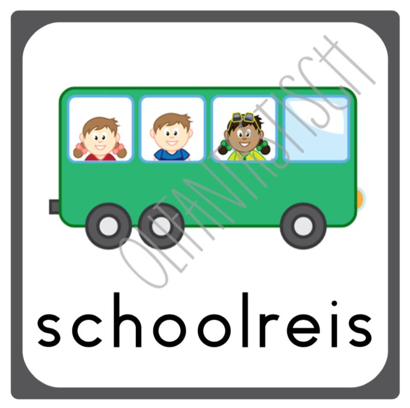 Schoolreis | Dagritme school