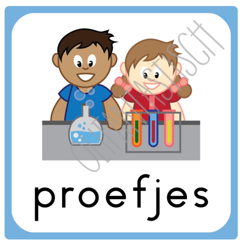 Proefjes | Dagplanning school