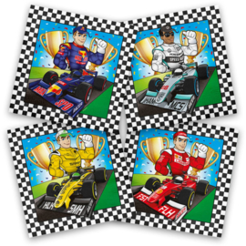 Formule 1 Feest - Servetten - 33 x 33 cm - 20 st