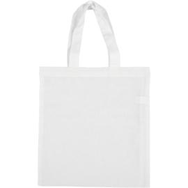 Tas van wit katoen - 28 x 30 cm