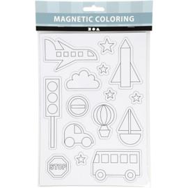 Kleur Magneten - Thema Verkeer