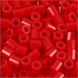 Nabbi Strijkkralen Rood - 1100 stuks - Medium