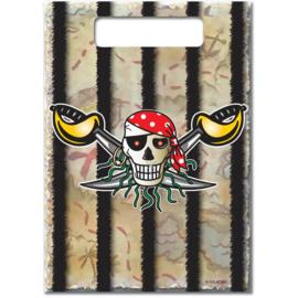 Uitdeelzakjes Piratenfeest | 8 st