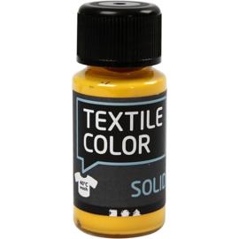 Textile Color Solid Geel - dekkende textielverf  - 50 ml