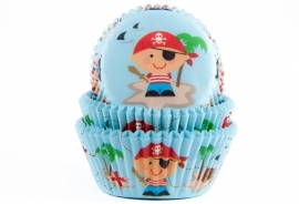 Cupcake bakvorm Piraat