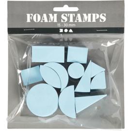 Foam Stempels | 15-30 mm | 12 st