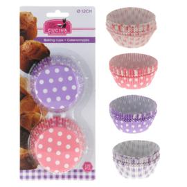 100 Cupcake Bakvormen - 6 cm