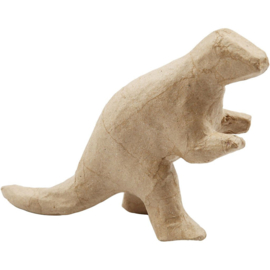 Dinosaurus Rex van papier-mache | 12 x 20 cm