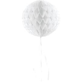 Honeycomb Bollen | wit | 30 cm