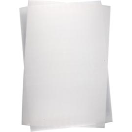 Krimpfolie - Mat transparant - A4 formaat - 10 vellen
