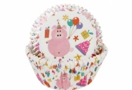 Cupcake bakvorm Feestvarken
